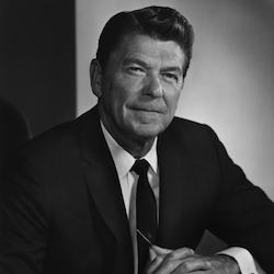 President Reagan on Modern Versions