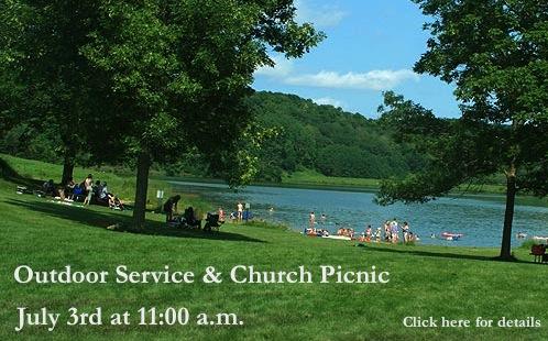 Outdoor Service & Church Picnic | Five Solas Church