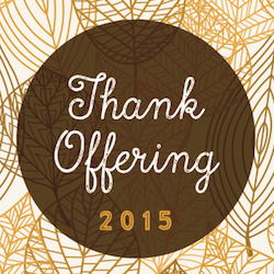 thank offering 2015