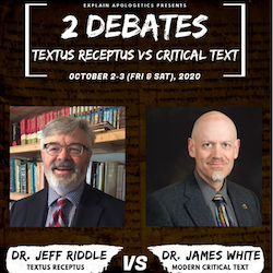Debate: Textus Receptus vs. Critical Text