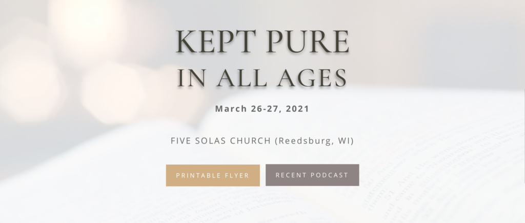 Conference on Scripture: March 26-27