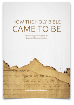 Free Booklet:  Bibliology
